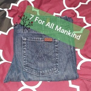 7 For All Mankind 'A' pocket bootcut jeans